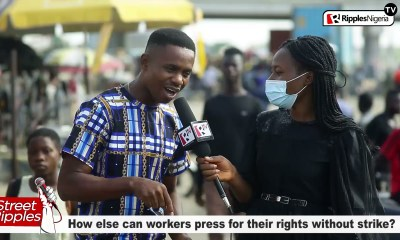 How else can workers press for their rights without strike?