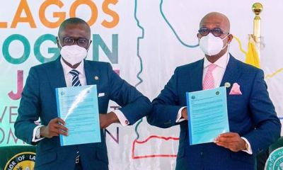 Lagos, Ogun sign MoU to set up joint development commission