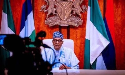 FOR THE RECORDS...Speech by President Buhari to mark Democracy Day 2021