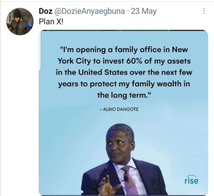 FACT CHECK... Is Dangote moving his assets out of Nigeria?