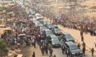 FACT CHECK... Is the viral video of massive welcome for Buhari in Maiduguri true or false?