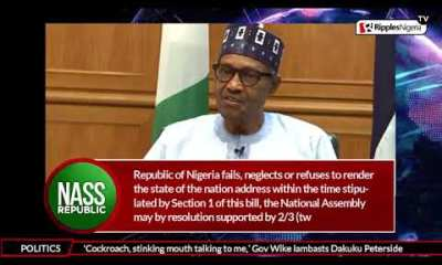 NASS REPUBLIC: State of the nation