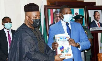 Akpabio submits NDDC audit report revealing 13,000 abandoned projects in Niger Delta