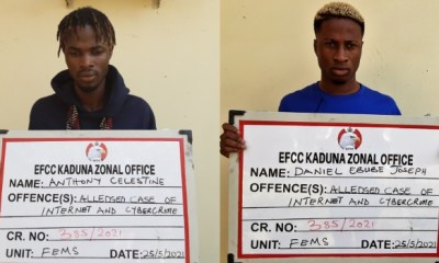 Two convicted for bitcoin scam in Kaduna