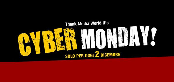 #Cybermonday su Mediaworld 10% di sconto e spedizione gratuita su tantissimi articoli