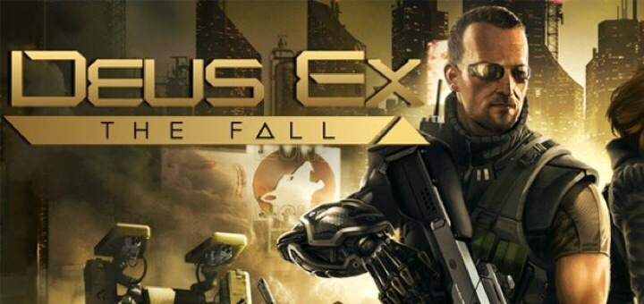 Deux Ex The Fall per iOS gratis