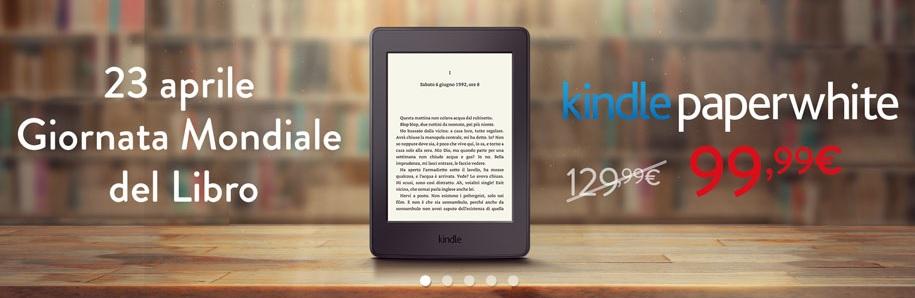 Kindle Paperwhite a 99,99 Euro – Scaduto
