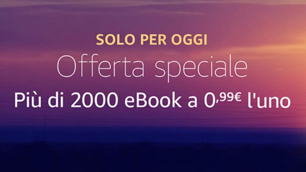 Solo per oggi eBook a 0,99 Euro