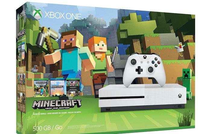 Xbox One S + Minecraft a 239,99 Euro spedizione compresa