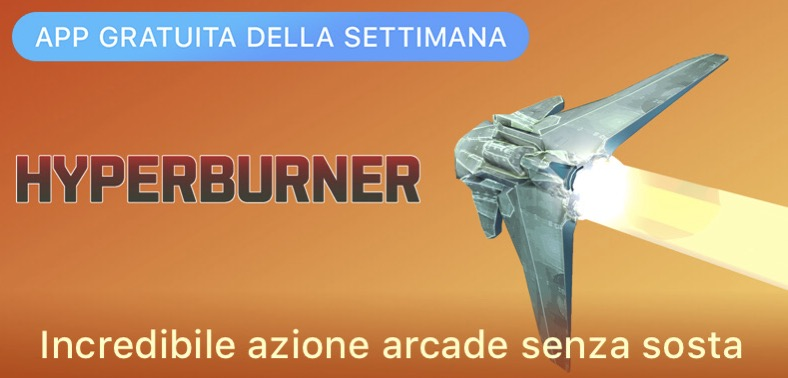 Hyperburner gratis su AppStore