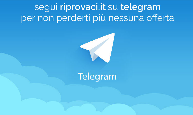 Canale Telegram di Riprovaci.it