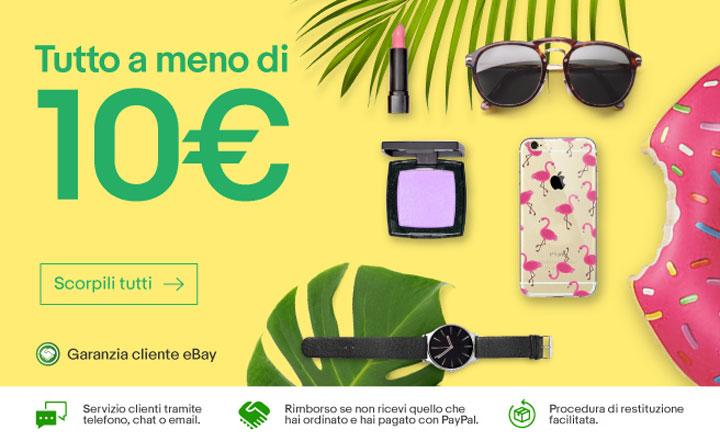 eBay: selezione prodotti a meno di 10 Euro + Sneakers Kappa 16,99€ + S8 599€ + P8/P9/P10 Lite a 185/199/262€