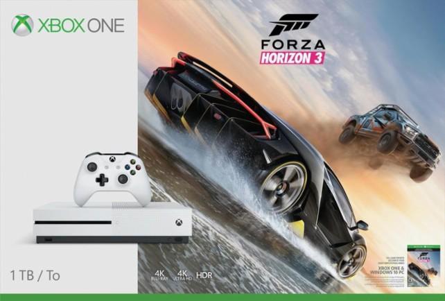 Xbox One S 500gb + Forza Horizon 3 a 184,99 Euro spedizione compresa