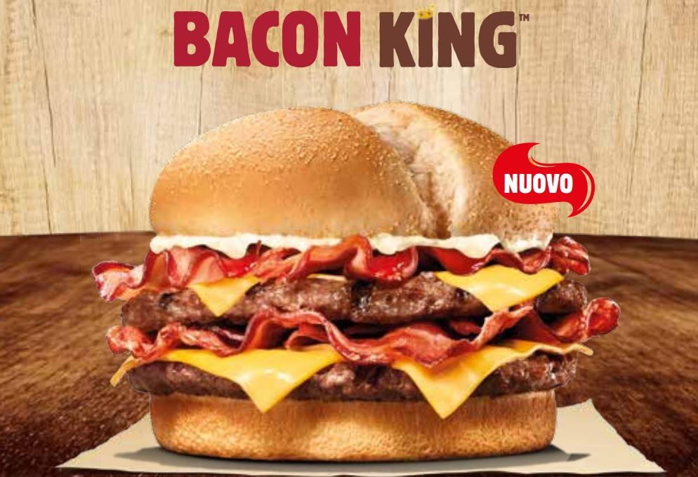 Buoni sconto Burger King per risparmiare fino al 40% validi fino al 20/11/2017