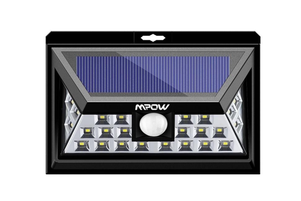 Lampada Solare Mpow 24 LED con sensore luce/movimento a 17,59€ – Scadenza 31/07/2017