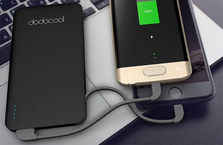 Power Bank Ultraslim Dodocool da 2500/5000/10000mAh a 12,99/13,99/20,99 Euro – Scadenza 30/09/2017