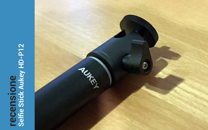 Recensione Selfie Stick Bluetooth con Treppiede Aukey HD-P12