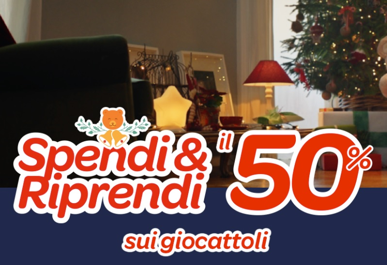 "Black Friday Carrefour ""Spendi&Riprendi"" il 50% sui giocattoli #blackfriday"