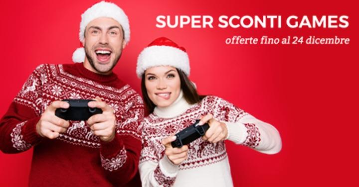 Super Sconti Games fino al 24 dicembre da Unieuro: Uncharted 29 Euro – SW Battlefront II 39 Euro – NBA 2K18 49 Euro