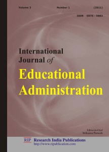 Ijea International Journal Of Educational Administration