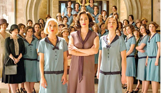 Cinco razones para no ver Las chicas del cable  RIRCA