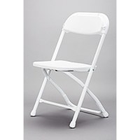 Child White Samsonite Chair
