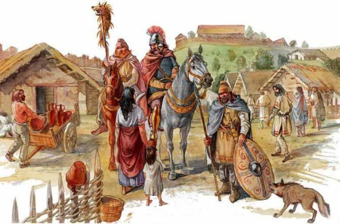 triburi dacice
