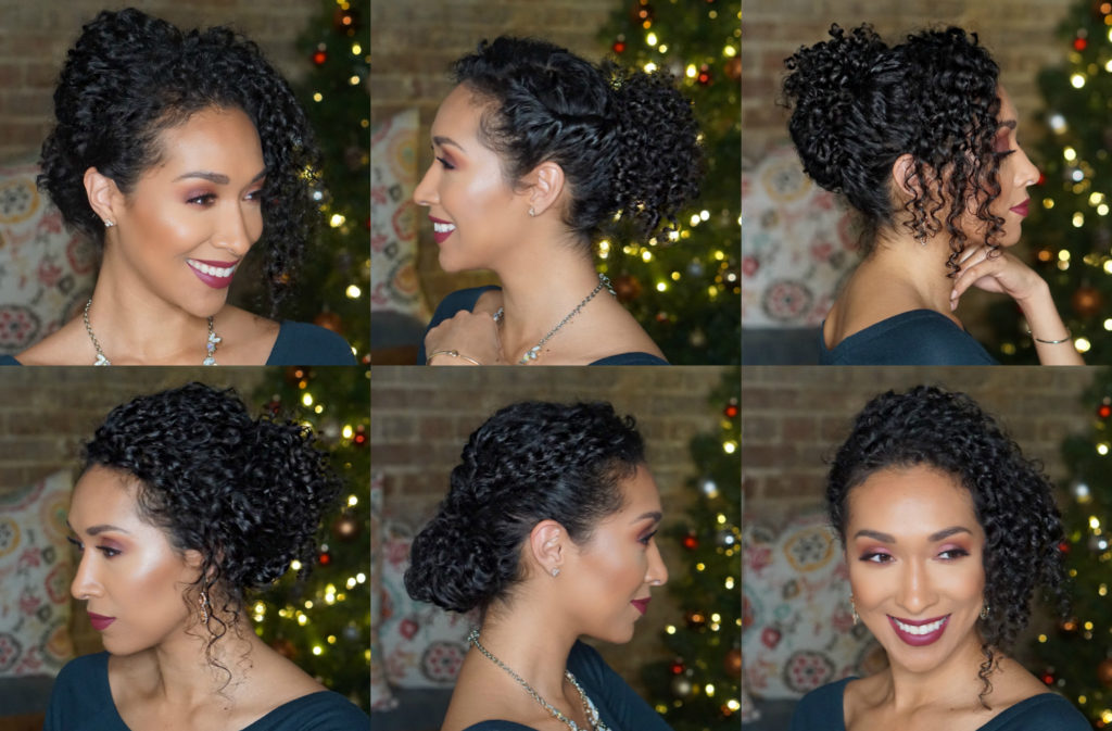 Updo Hairstyles For Naturally Curly Hair Risasrizos