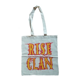 Rise Clan EC tote bag natural