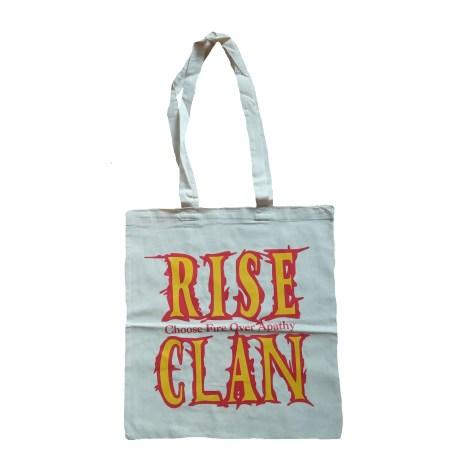 Rise Clan EC tote bag natural