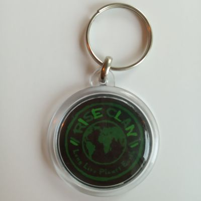 Rise Clan World key ring