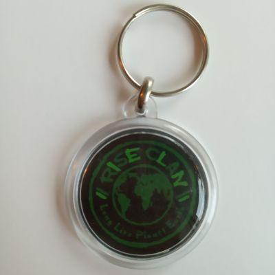 Rise Clan World key ring