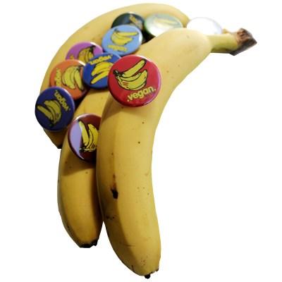bananas buttons