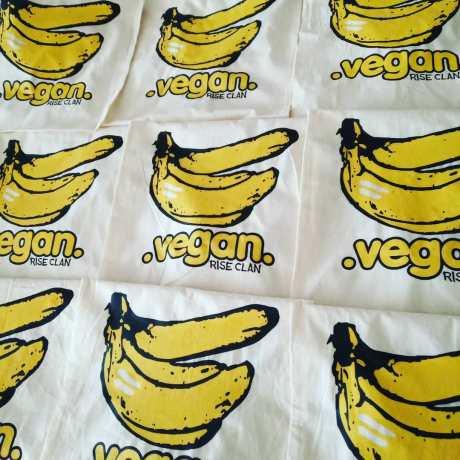 bananas tote bags
