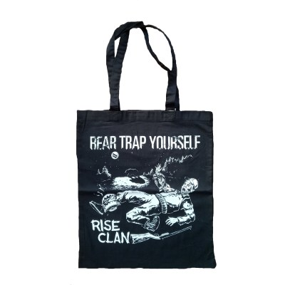 bear trap yourself tote bag