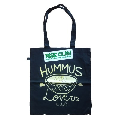 hummus lovers tote bag