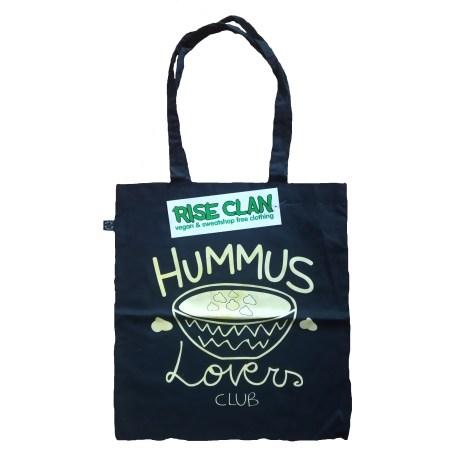 hummus lovers tote bag