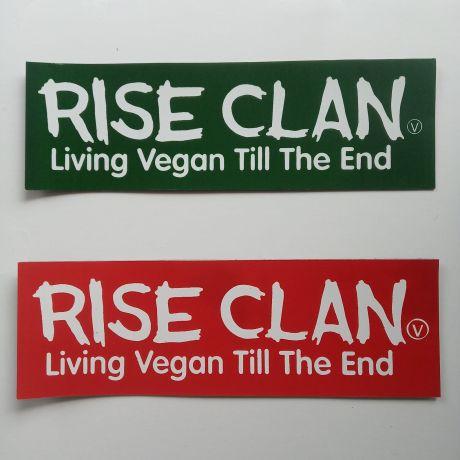 living vegan till the end magnet