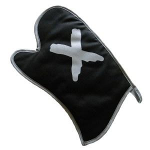 oven glove X