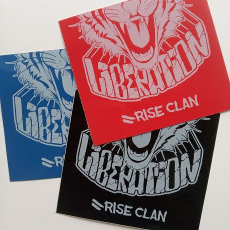 tiger liberation stickers