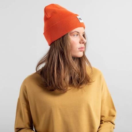 beanie orange 5