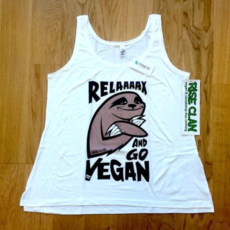 Sloth T-shirt Woman cut