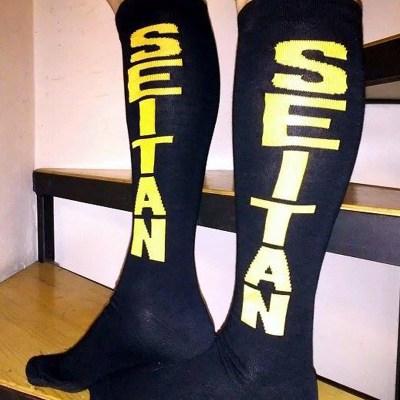 Seitan Long Socks