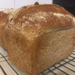 Wholemeal tin loaf