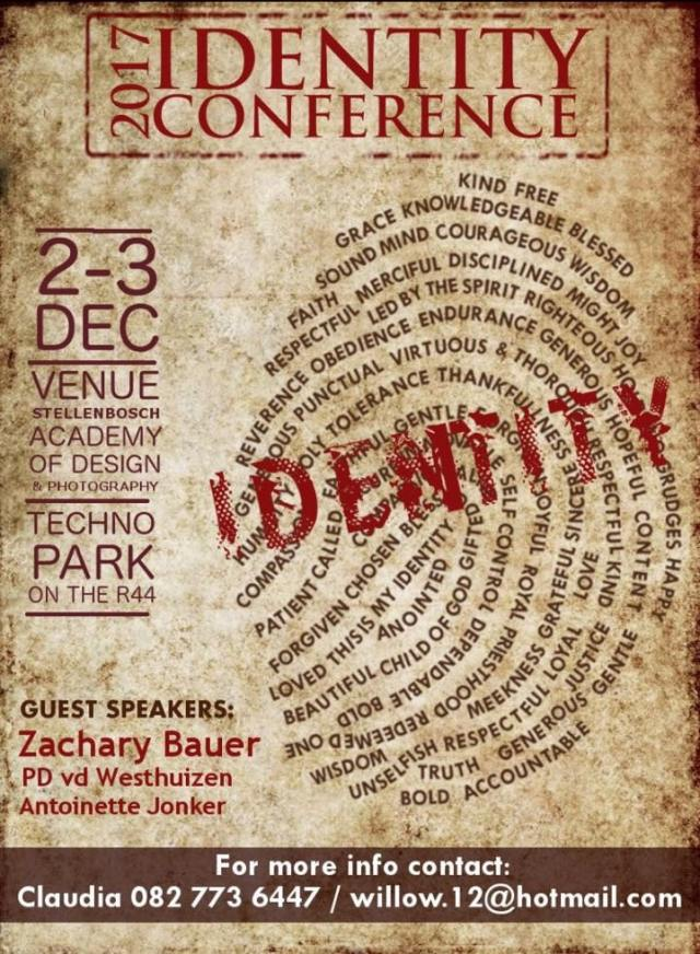 Identity Conference – Zach Bauer (New2Torah), PD (Rise on Fire)