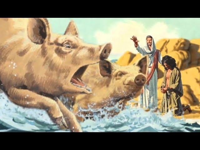 ╫ Why Jesus Cast the Demons Into Pigs – Unclean Food