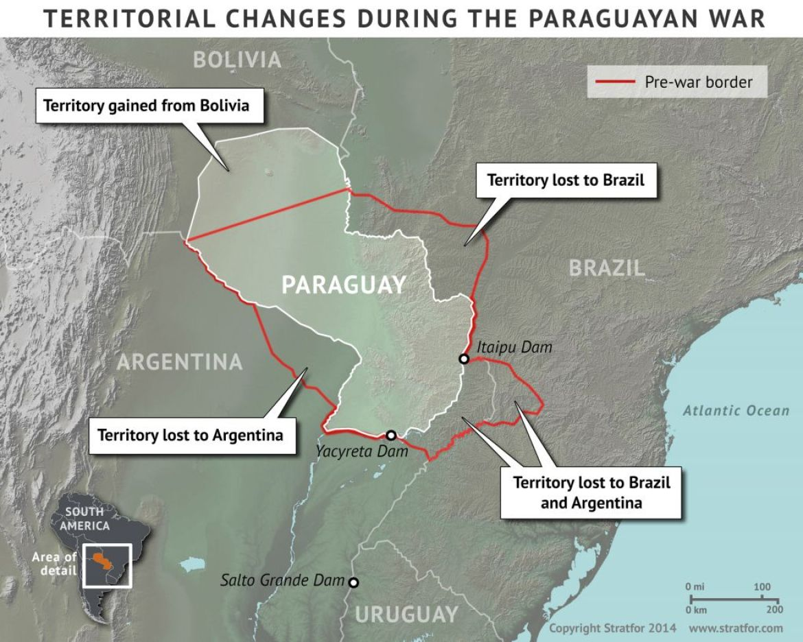 paraguay2 0 - Lingering Consequences of the Paraguayan War