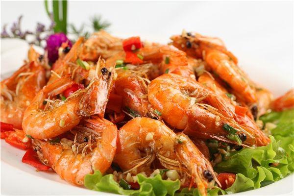 gamberetti sale e pepe - cena di capodanno lunare cinese 2020