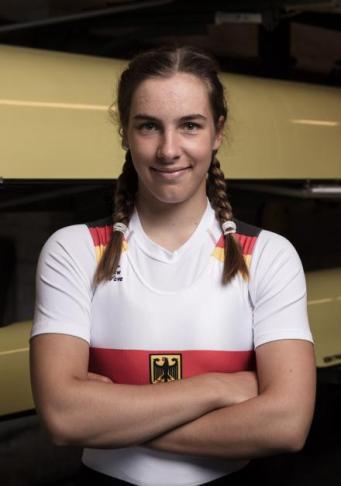 Katharina Stahmer (Lübecker Ruder-Gesellschaft/Sportinternat Ratzeburg). Foto: DRV/Schwier