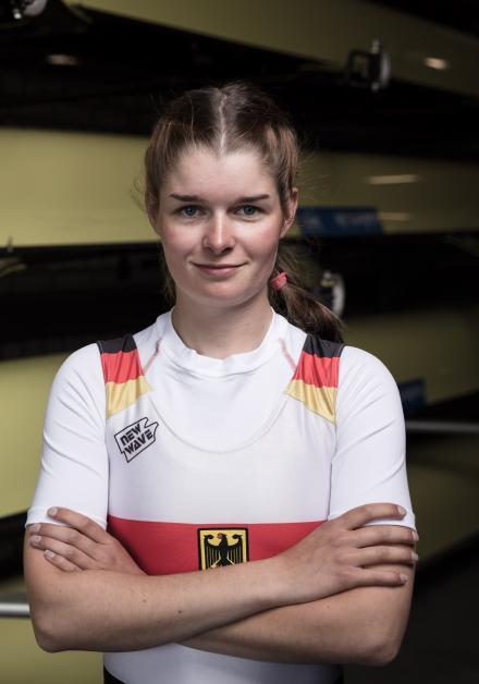 Larina Hillemann. Foto: DRV/Schwier